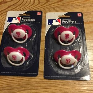 Baby Pacifiers- San Francisco Giants ⚾️